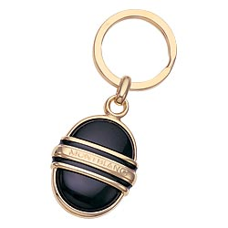 Accessories - MontblancAccessories - Onyx & Gold Key Ring