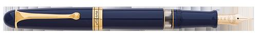Aurora Limited Editions - 88 Anniversary - Year: 2017 - Blue with Extra Flexibile Nib - Edition: 188 Fountain Pens - Fountain Pen