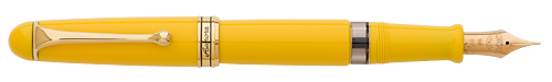 Aurora Limited Editions - 88 Anniversary - Year: 2017 - Yellow with Extra Flexible Nib-SOLD OUT! - Edition: 188 Fountain Pens - Fountain Pen