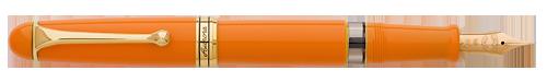 Aurora Limited Editions - 88 Anniversary - Year: 2017 - Orange with Extra Flexibile Nib - Edition: 188 Fountain Pens - Fountain Pen