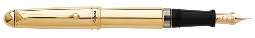 Aurora Limited Editions - 88 Anniversary - Year: 2017 - Gold Plated with Extra Flexible Nib - Edition: 188 Fountain Pens - Fountain Pen with Extra Flexible Nib