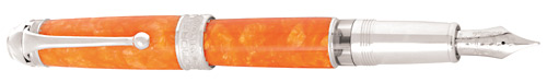 Aurora Limited Editions - Mar Ionio - Year: 2013 - Orange - Edition: 480 Fountain Pens - Fountain Pen