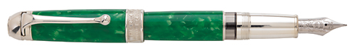 Aurora Limited Editions - Mar Tirreno - Year: 2012 - Green - Edition: 480 Fountain Pens - Fountain Pen