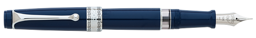 Aurora Limited Editions - Optima Flex - Year: 2018 - Blue - Edition: 330 Fountain Pens - Fountain Pen