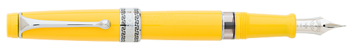 Aurora Limited Editions - Optima Flex - Year: 2018 - Yellow - Edition: 330 Fountain Pens - Fountain Pen