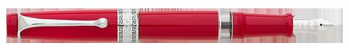 Aurora Limited Editions - Optima Flex - Year: 2018 - Red - Edition: 330 Fountain Pens - Fountain Pen