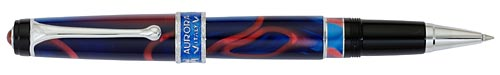 Blue/Red Swirl-5500 Pens finish - Rollerball shown