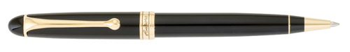 Gold Trim/Black Barrel finish - Ball Pen shown