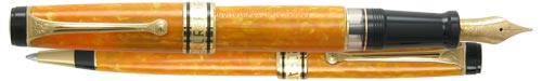 Aurora Limited Editions - Sole Fountain Pen & Ball Pen Set - Year: 1999