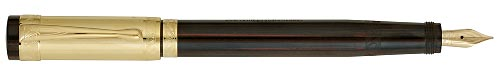 Aurora Limited Editions - Nobile - Year: 2007 - Ebonite & Vermeil - Edition: 1919 Pens - Fountain pen