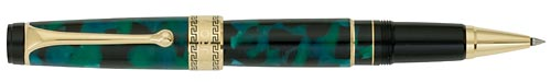 Green Marble/Gold Trim finish - Rollerball shown