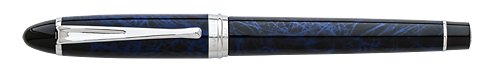 Deluxe Blue Lacquer Marble finish - Rollerball shown