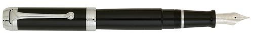 Black with Chrome Trim   finish - Fountain Pen shown
