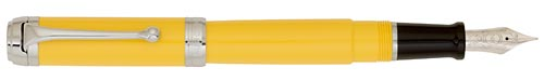 Yellow with Chrome Trim finish - Fountain Pen shown