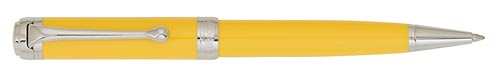 Yellow with Chrome Trim finish - Ball Pen shown