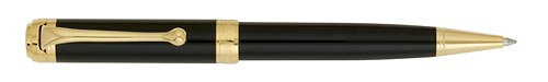 Black with Gold Trim   finish - Ball Pen shown