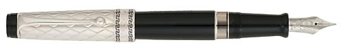 Sterling & Black finish - Fountain Pen shown
