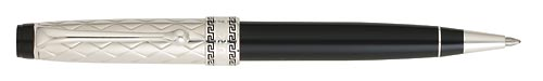 Sterling & Black  finish - Ball Pen shown