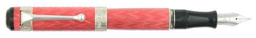 Aurora Limited Editions - Saint Petersburg - Year: 2003 - Pink  - Edition: 300 Fountain Pen; 150 Rollerballs-18 Kt Nib;Piston Fill - Fountain Pen