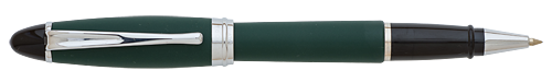 Green and Chrome finish - Rollerball shown