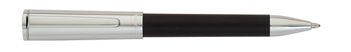Black Satin/Chrome Cap finish - Ball Pen   shown