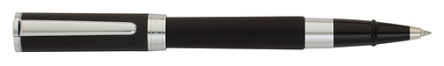Black Satin/Chrome Trim finish - Rollerball  shown