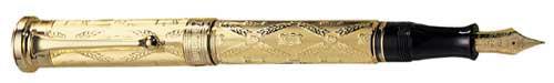Aurora Limited Editions - Giuseppe Verdi - Gran Gala - Year: 1999 - Vermeil - Edition: 1,919 Pens - Fountain Pen