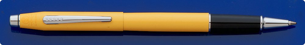 Cross Classic Century Sunrise Yellow Pearlescent Lacquer Rollerball