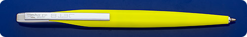 Dupont Jet 8 Yellow Ball Pen - Top Activated