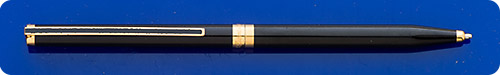 Dupont Slender Classique Black Lacquered Mechanical Pencil - 0.7mm Lead - Twist Activated