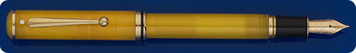 Sheaffer Connaisseur - Made For Levenger - Yellow Translucent Fountain Pen - Cartridge/Converter Fill - Converter Included