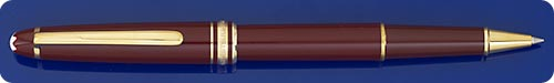 Montblanc Classique #163 Meisterstuck Burgundy Rollerball - No Longer Produced In Burgundy - Made In W. Germany