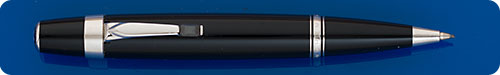 Montblanc Boheme Mechanical Pencil - Black Stone In Clip - 0.9mm Lead