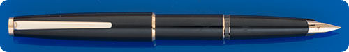 Montblanc Black  Fountain Pen - Cartridge/Converter Fill - Converter Included