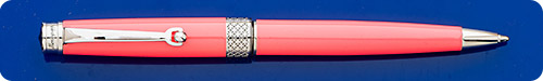 Montegrappa Piacere Neon Carrot Ball Pen - Twist Activated