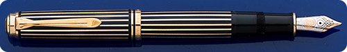 Pelikan M805 Raden Royal Gold  Limited Edition Fountain Pen #027/388 - Urushi Lacquer - Abalone Strips - Piston Fill
