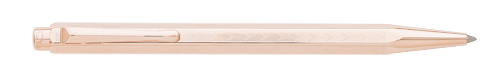 Rose Gold Plated Chevron finish - Ball Pen  shown