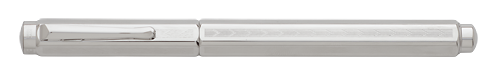 Palladium Plated Chevron finish - Rollerball shown