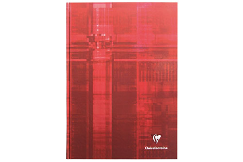 Red Ruled 6 x 8 in. 192 Pages finish - Hardcover Notebook shown