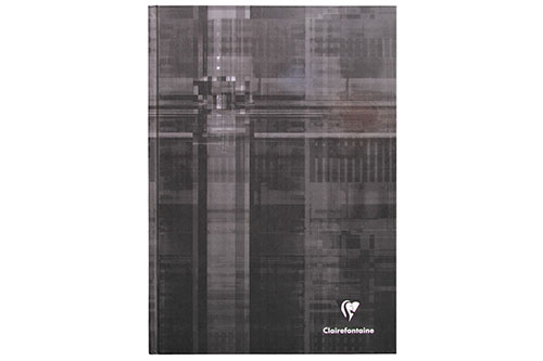 Black Ruled 6 x 8 in. 192 Pages finish - Hardcover Notebook shown
