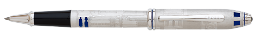 Cross Limited Editions - R2-D2 - Year: 2016 - Brushed Steel - Edition: 1977 Pens - Select Tip