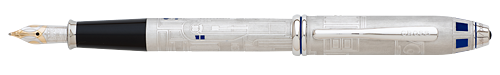 Cross Limited Editions - R2-D2 - Year: 2016 - Brushed Steel - Edition: 1977 Pens - Fountain Pen