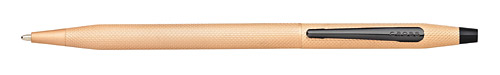 Brushed Rose Gold PVD finish - Ball Pen shown