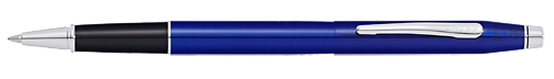 Translucent Blue Lacquer finish - Rollerball shown