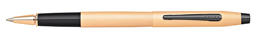 Brushed Rose Gold PVD finish - Rollerball shown