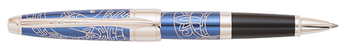 Blue  finish - Rollerball shown