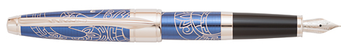 Blue   finish - Fountain Pen shown