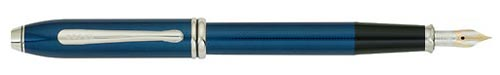 Quartz Blue Lacquer finish - Fountain Pen(18 kt Gold Nib) shown