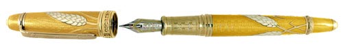 David Oscarson - Harvest - Autumn Gold Fountain Pen  #HWAGH-FP