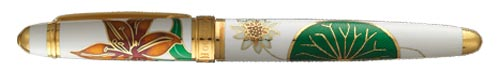 White/Gold finish - Rollerball shown